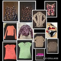 Women's assorted clothes all for $150 size small Edmonton, T6W 2K6