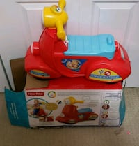red and blue Little Tikes car bed frame Lincoln, L0R 1B6