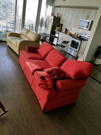 Red couch. Needs to be picked up Charlotte, 28202