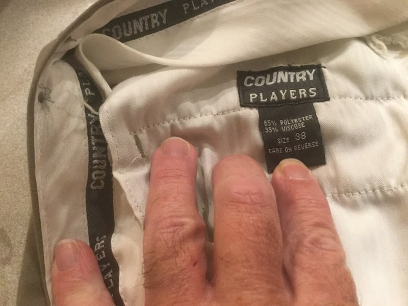 Pants COUNTRY PLAYERS Size W 38 by L 30 8ac434f2-b9cd-4dd4-94ed-709931642633