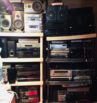 Stereo components all makes and models surround sound systems etc... Hamilton, 45015