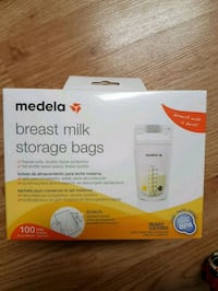 Brand new Medela breastmilk storage bags 100 counts