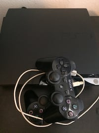 Sony ps3 black console
