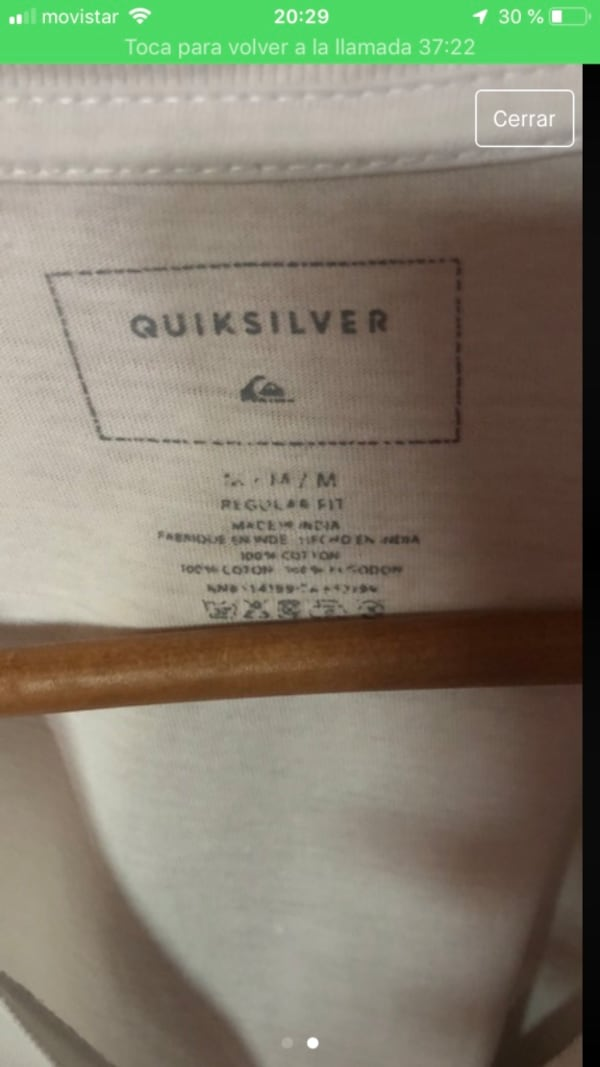 Camiseta QuickSilver 1