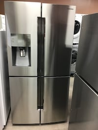 36' fridge samsung  4 doors new model