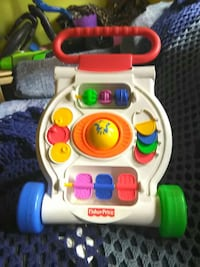 Fisher Price learning walker stand