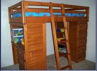 Beautiful Brown Loft Bed With Desk And Drawers  Salem, 97306