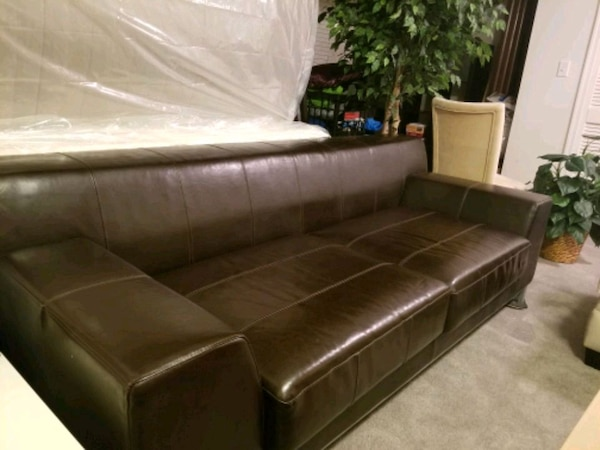 Swell Ikea Kramfors 3 Seat Dark Brown Leather Sofa 5 Download Free Architecture Designs Scobabritishbridgeorg
