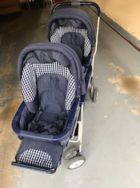 baby's blue and gray stroller Centreville, 20120