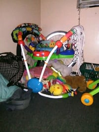 baby's assorted color jumperoo 759 mi
