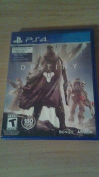 Destiny PS4 game. Mount Forest, N0G 2L1