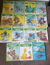 Sesame Street Book Collection Rittman, 44270