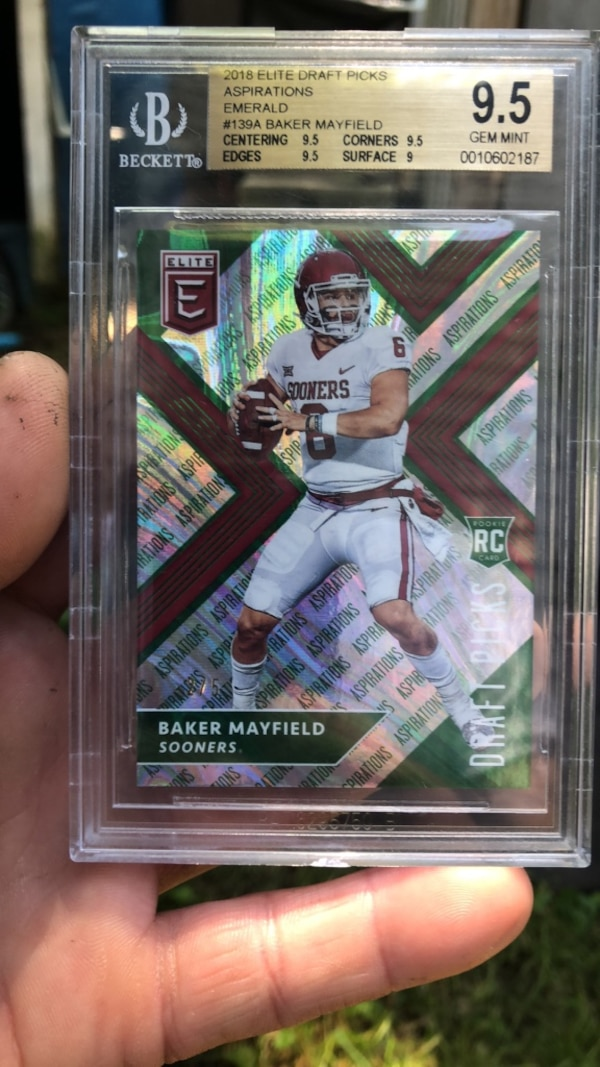 Baker Mayfield Rookie Graded