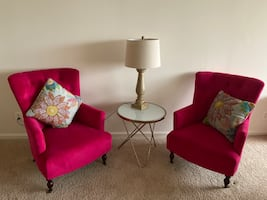 Two Pink couches
