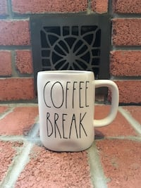 Last one: Rae Dunn Coffee Break Mug (New)