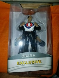 2 Obama action figures Garland, 75041