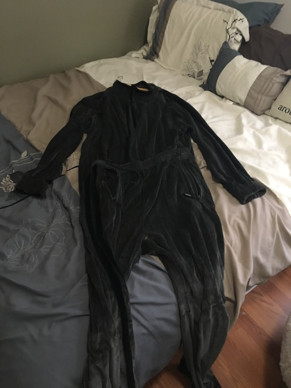 0643025c1cba Used Gray and black Fubu velour suit. As xl for sale in Snohomish ...