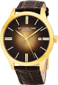 NEW Stuhrling Classic Cuvette II Men's Swiss Quartz Watch Toronto