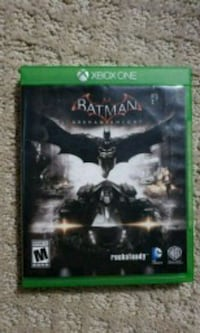 Xbox One Batman Arkham Knight game case Saint Clair Shores, 48080