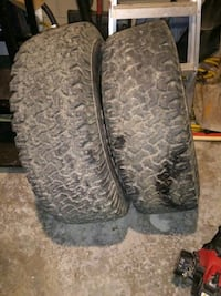 2. used Goodyear Truck Tires- Size is 31 X 10.50 R15