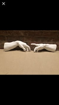 Plaster hands for wall Hagerstown, 21740