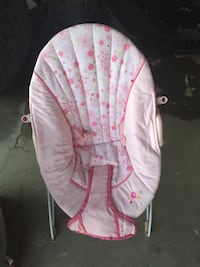 baby's pink bouncer Chowchilla