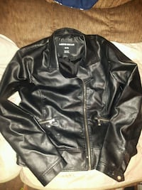 WOMENS XL MOTO GEAR LEATHER JACKET 3729 km
