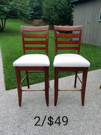 Two Counter Height Stools *Delivery Available* Hamilton, L9H 5N7