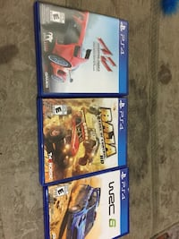 3 ps4 racing games 20 for all Edmonton, T5E 4B3