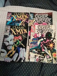 Classic X-Men and Silver Surfer comic books Surrey, V3T 3N3