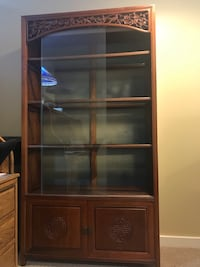 Rosewood Glass Cabinet San Francisco, 94132