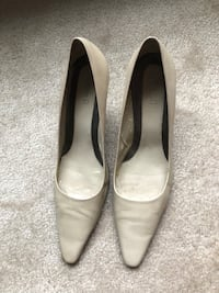 Leather shoes with brand new sole (negotiable )