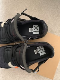 pair of black Nike Air Max shoes Woodbine, 21797