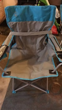 coleman camping chair with chair with cell  port and can cooler Ramsey, 55303