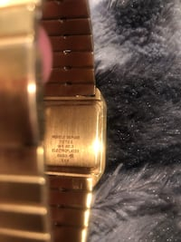 Vintage Catena Unisex Gold Electroplate Watch. Condition is Pre-owned. Shipped with USPS Parcel Select Ground. The watch has a new battery on 3/20/19 and works perfect!! The crystal is flawless and has no scratches, nicks or dings. Beautiful watch very ra Rockville, 20851