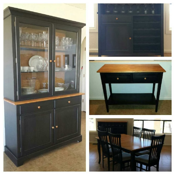 Used Shermag Solid Birch Wood Dining Set For Sale In Fountain Hills