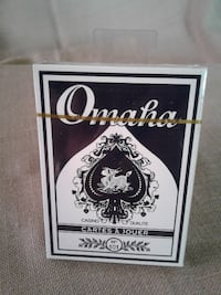 NEW**Omaha Coated Casino Quality Poker Playing Cards