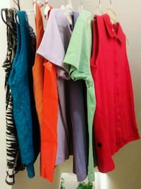 women's assorted blouses