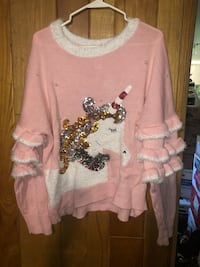 Unicorn Christmas Sweater Mc Lean, 22101