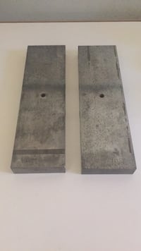 """Hardened Steel Parallels L 8-1/2"""" H 3/4"""" W 2-1/2"""" Palmdale, 93552"""