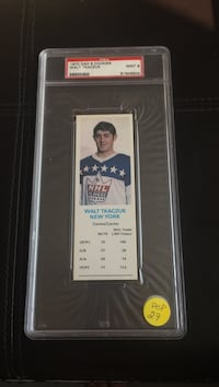Walt Tkaczuk New York collectible card Ottawa, K1T 2N5