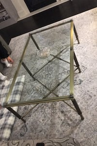 coffee table + matching side table