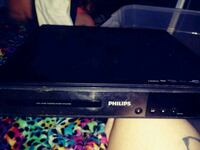black PHILIPS DVD player Quapaw, 74363