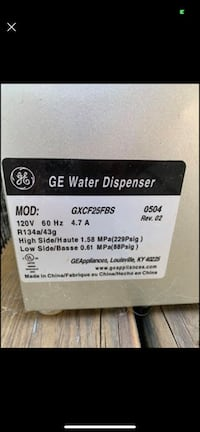GE Profile Hot/Cold water Dispenser w/mini fridge Wingdale, 12594