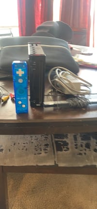 Wii system with remote and cables