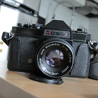 GAF L-17 SLR film camera (with 55mm lens) TORONTO
