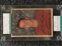 Al Arbour Hockey Rookie trading card Moncton