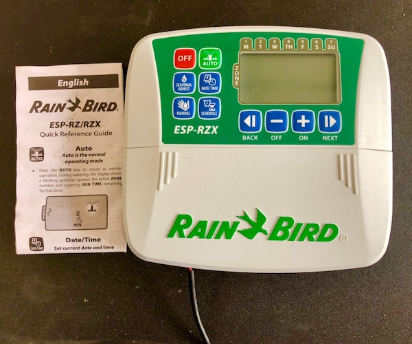Rain Bird ESP-RZX4i. Never used.  0