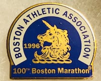 100th BOSTON MARATHON LIMITED PIN 1996 Quincy, 02169