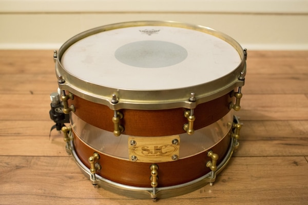 Drums For Sale >> Used Sjc Custom Drums Hybrid Snare For Sale In New Britain Letgo